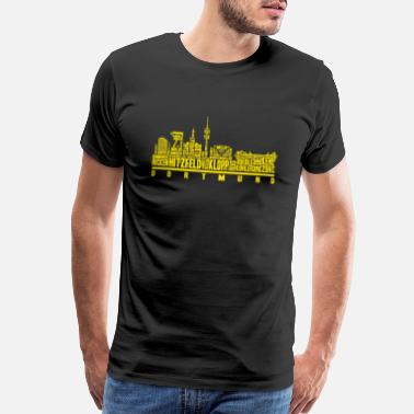 Cultural Capital Dortmund - Great footballer texas t-shirt - Men's Premium T-Shirt