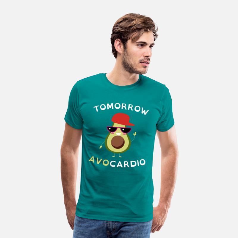 Avocardio men/'s funny premium t-shirt