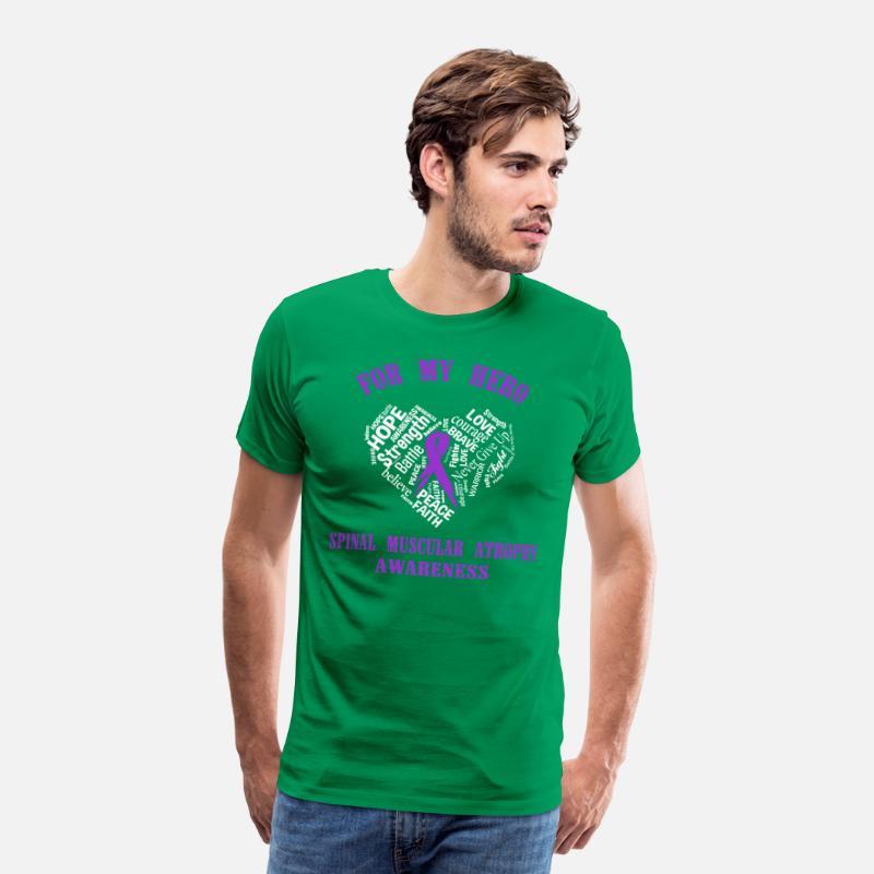 39784cdb For my hero spinal muscular atrophy awareness Men's Premium T-Shirt |  Spreadshirt