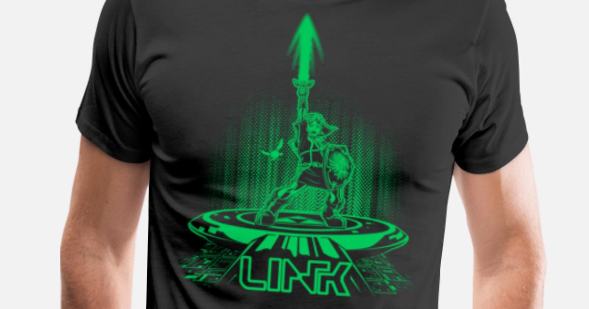 218c43d03 Link - Tron mashup T - shirt Men's Premium T-Shirt | Spreadshirt