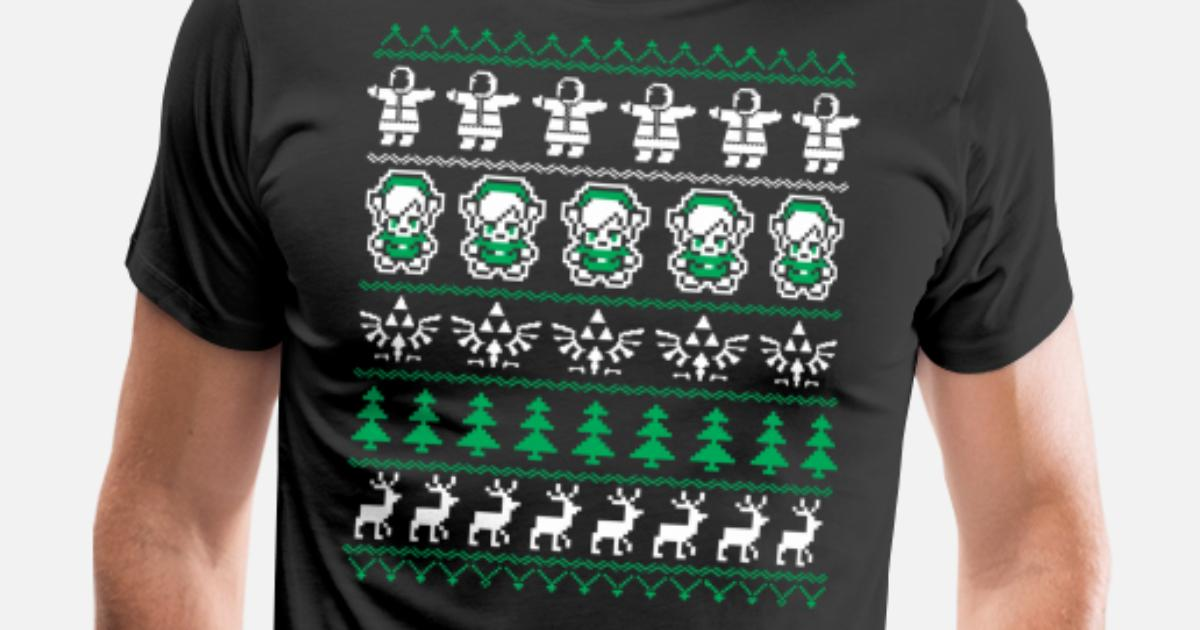 Zelda - Christmas Sweater for legend of zelda fa by | Spreadshirt