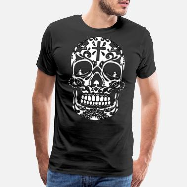 Emo Crosses DEATH CROSS - Men's Premium T-Shirt