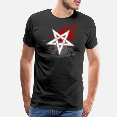 Pentagram Antichrist pentagram - Men's Premium T-Shirt