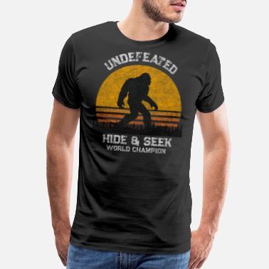 b513e85bfaa8 Sasquatch Funny Bigfoot T Shirt - Funny Sasquatch T Shirts - Men's Premium T -Shirt