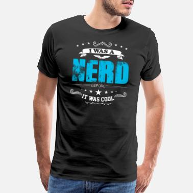 Science Nerd Read book nerd reader gift - Men's Premium T-Shirt