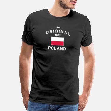 Eastern Europe Poland - Men's Premium T-Shirt