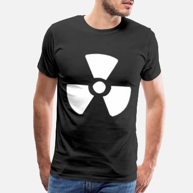 Bomb Atomic Bomb Nuclear sign - Men's Premium T-Shirt