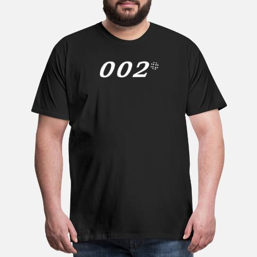 Cool Pickleball Shirt Zero Zero Two 002 Men S Premium T Shirt