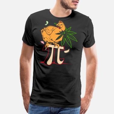 Pot Chicken Pot Pi funny t-shirt - Men's Premium T-Shirt