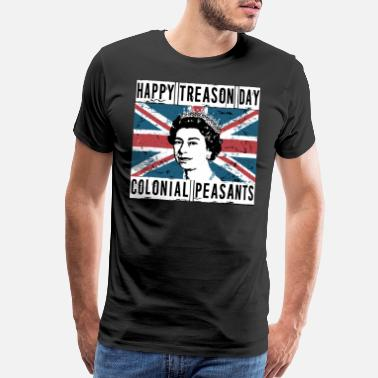 Peasant happy treason day colonial peasants wife - Men's Premium T-Shirt