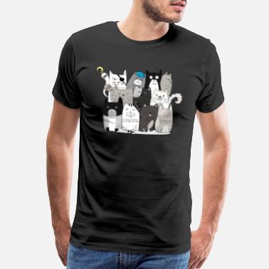 Cats Lover cats squads, for cats lovers - Men's Premium T-Shirt