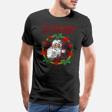 Pentagram Sleigher | Santa Claus Christmas Heavy Metal Gift - Men's Premium T-Shirt