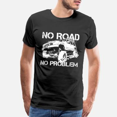 Road Off Road Jeep Army Truck Mens Off Roading Tyres tr - Men's Premium T-Shirt