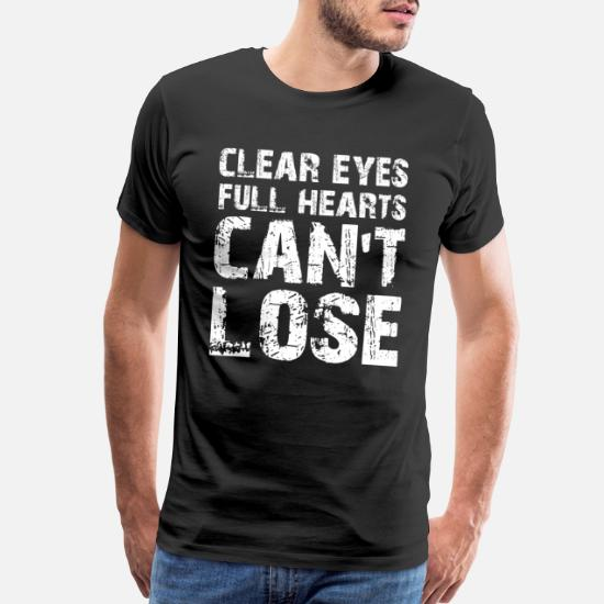 New Friday Night Lights Clear Eyes Full Hearts Can/'t Lose Mens T-Shirt S-5XL