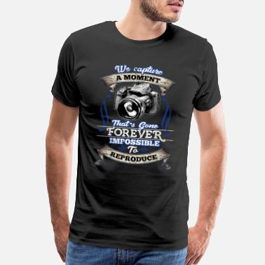 Wildlife Photography photographer photographing - Men's Premium T-Shirt