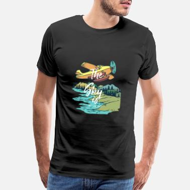 Gap The Sky is not the limit | Tshirt & Gift - Men's Premium T-Shirt