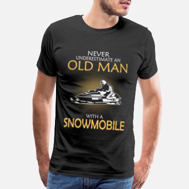 Mr.ChenHong Mans Snowmobile from Ski-Doo Tshirts