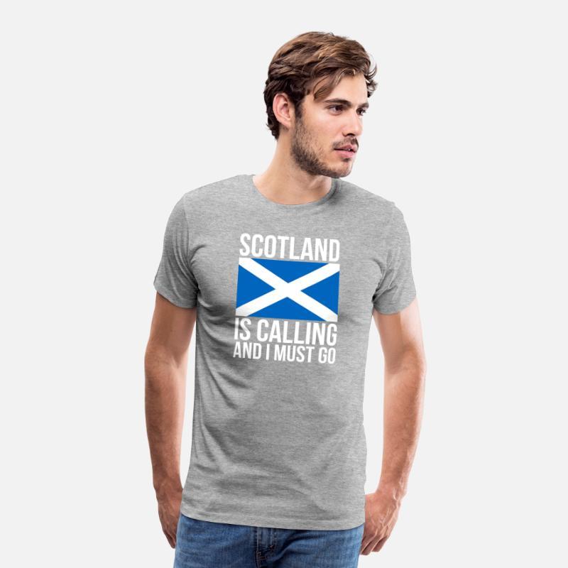 1f9fae161 Funny Scottish Tshirt Scotland Is Calling And I Men S Premium T