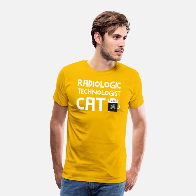 bebf5e138b X Ray Cat Rad Tech Radiology Barium Funny T Shirt Men's Premium T-Shirt |  Spreadshirt
