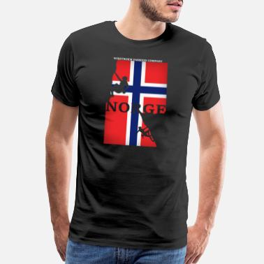 Pearl Norway Scandinavia Europe Travel - Men's Premium T-Shirt