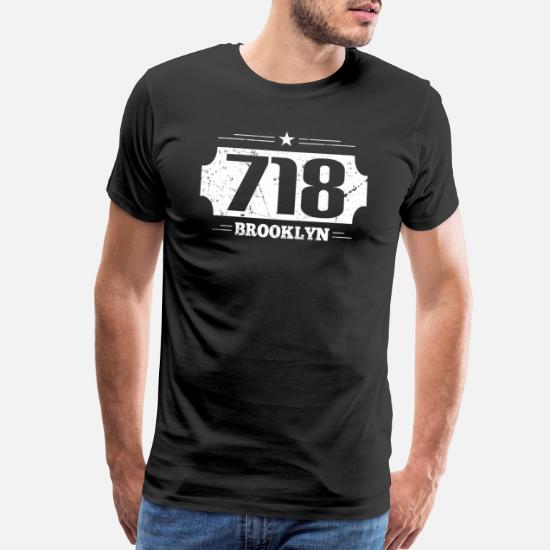 AREA CODE 718 T-shirt Brooklyn Queens Bronx Staten NYC New York City XS to 4XL