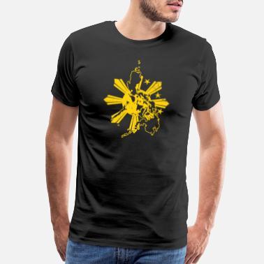 8c5c7bfb5c Philippine Flag Philippine Flag Sillouhette Country Gift - Men's Premium T- Shirt