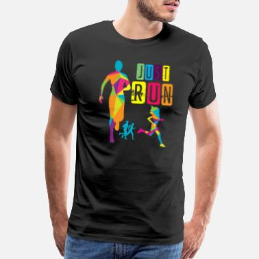 Justice Just run - Men's Premium T-Shirt