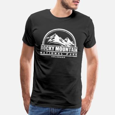 Rocky Mountains Rocky Mountain - Men's Premium T-Shirt