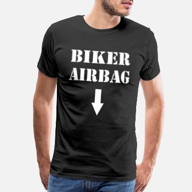 Airbag BIKER AIRBAG / FOR WOMAN, MAN AND KIDS - Men's Premium T-Shirt