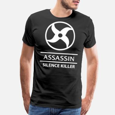 Mobile Mobile Legends Assassin white - Men's Premium T-Shirt