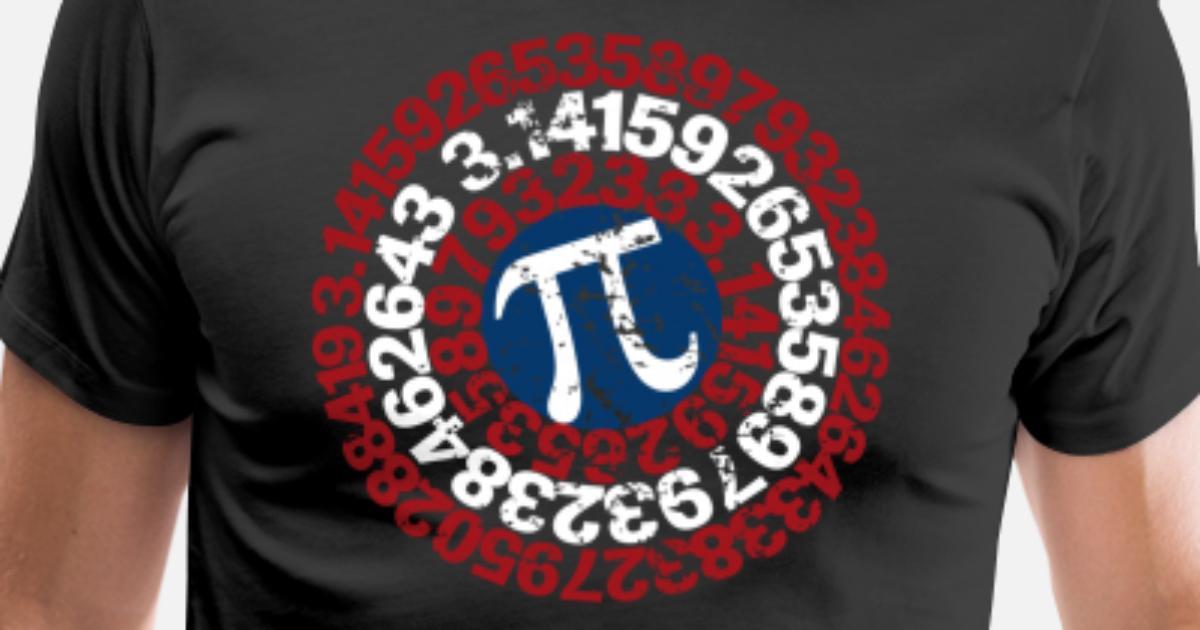 a13a0c724 Super Math Teacher Shirt Captain Pi Superhero Men's Premium T-Shirt ...