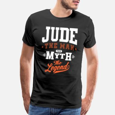 Jude Name Jude - Men's Premium T-Shirt