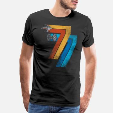 1977 1977 galaxy was changed - Men's Premium T-Shirt