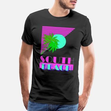 b50217e415460f South Beach South Beach 80s - Men s Premium T-Shirt