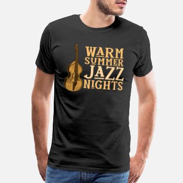 Dixieland Jazz Night Jam Session Jazz Lovers Design - Men's Premium T-Shirt