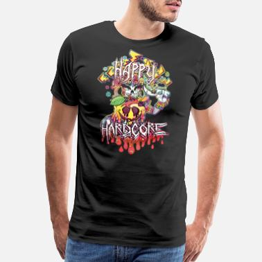 Happy Hardcore Happy Hardcore - Men's Premium T-Shirt
