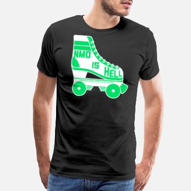 Nmo NMO is hell on wheels - Men's Premium T-Shirt