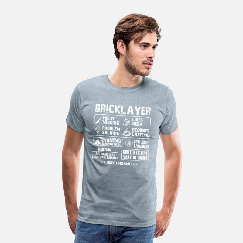 There Are No Shortcuts To Standard Unisex T-shirt Trendy Bricklayer S-5XL
