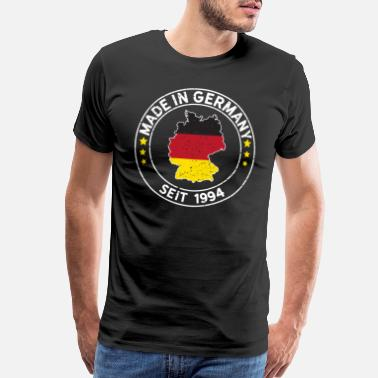 Made In Germany Made In Germany Since 1994 Birthday Gift Idea - Men's Premium T-Shirt