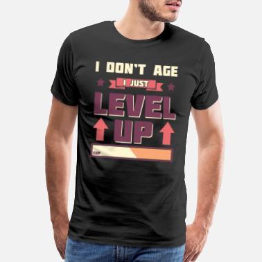 Controller I Don't Age I Level Up - Men's Premium T-Shirt
