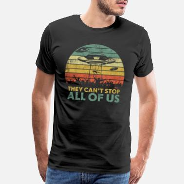 They Can't Stop All Of Us - Storm Area 51 - Men's Premium T-Shirt