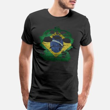 Brazil Designs Brazil - Men's Premium T-Shirt