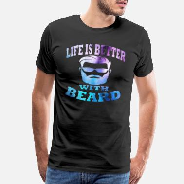 Furry Beard - Men's Premium T-Shirt