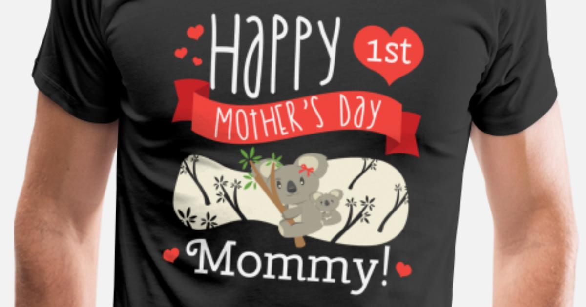 Happy Mothers Day Message Mom Grandma Koala Gift Men's Premium T-Shirt |  Spreadshirt