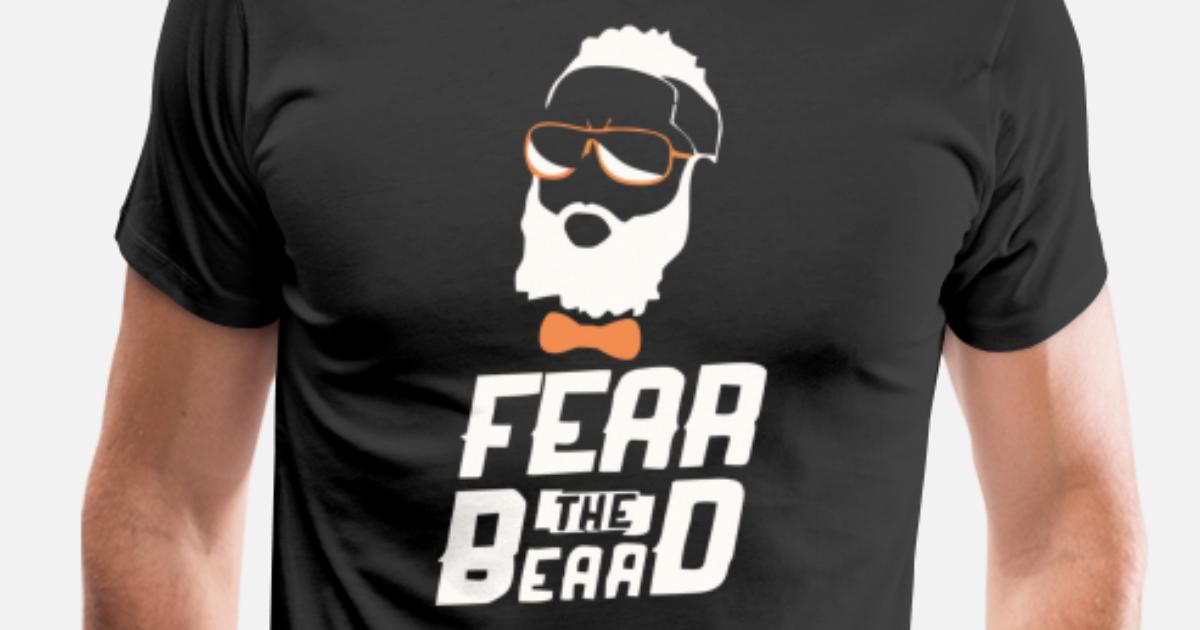 29ce2996543 James Harden Fear The Beard Men s Premium T-Shirt