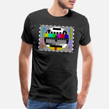 Pattern TV Test Pattern T-Shirt - Men's Premium T-Shirt