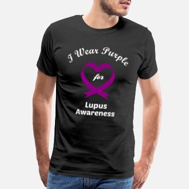 Disabled Not Every Disability is Visible Lupus Awareness - Men's Premium T-Shirt