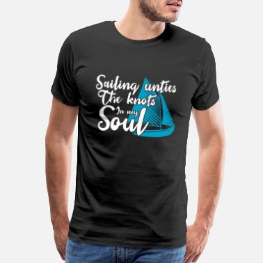 Regatta Sailing my therapy Sailor Navigator - Men's Premium T-Shirt