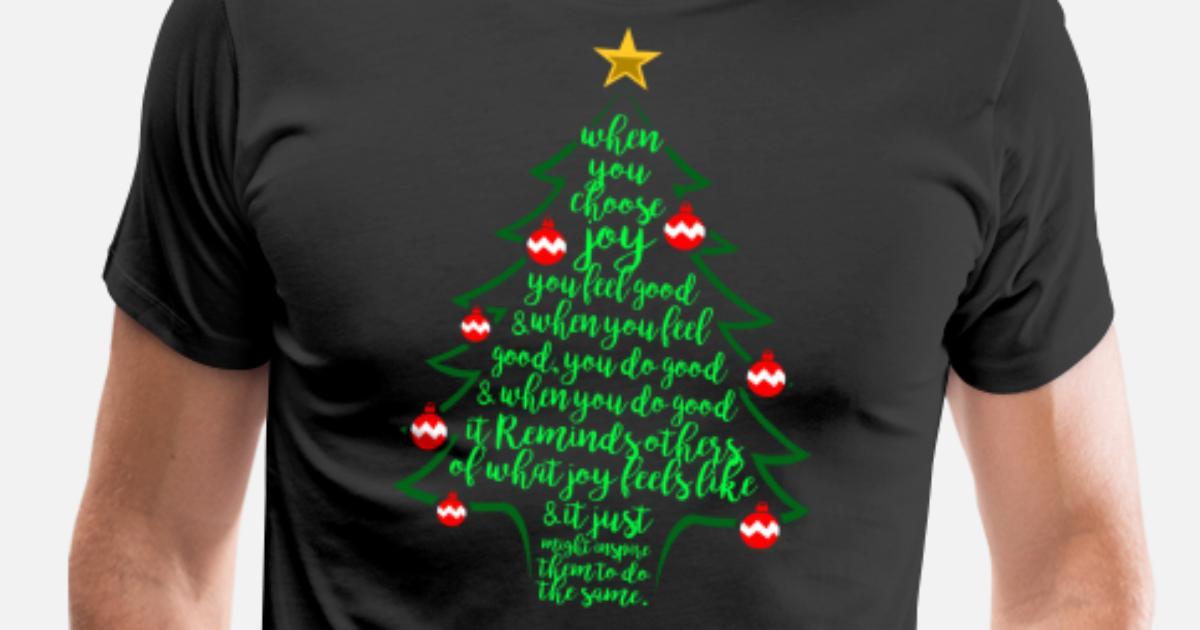 Christmas Tree Poem - Christmas Family Men s Premium T-Shirt   Spreadshirt b3c8902815