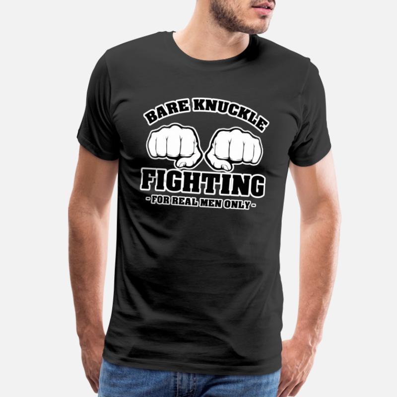 BARE KNUCKLE BOXING mma gym tee birthday xmas gift idea mens womens T SHIRT TOP